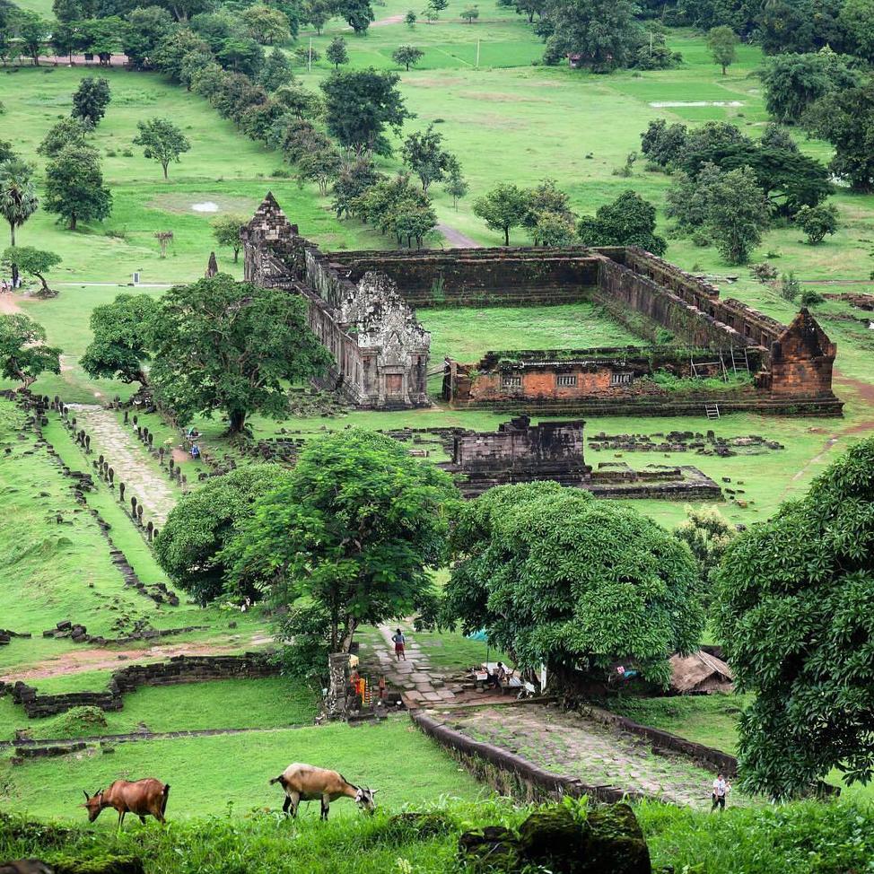 Wat Phou in Champasak Province, Laos. Image: ciaratravelphoto / Instagram