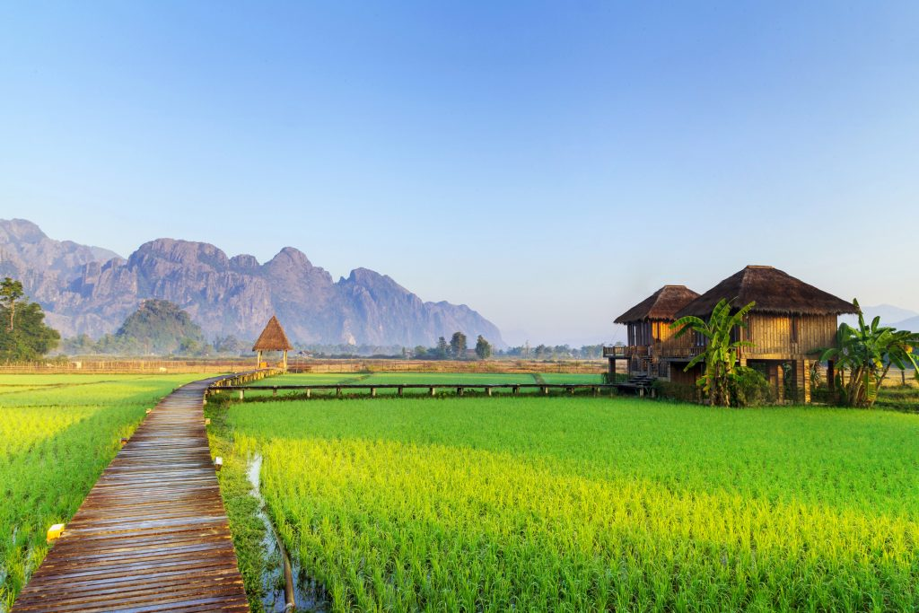 Schedule your Vang Vieng visit for the cool and dry months of October to March. Visit SoutheastAsia.