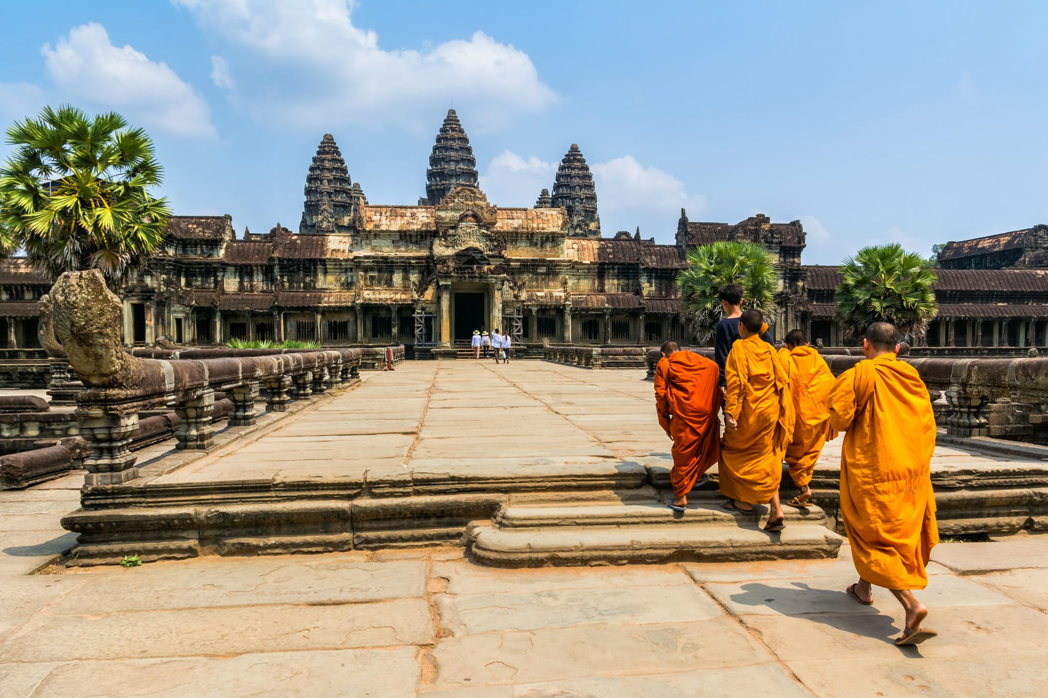 Angkor Wat Temple is the biggest faith-based structure in the world—appropriately scaled for something meant to symbolize the Universe. Visit SoutheastAsia.
