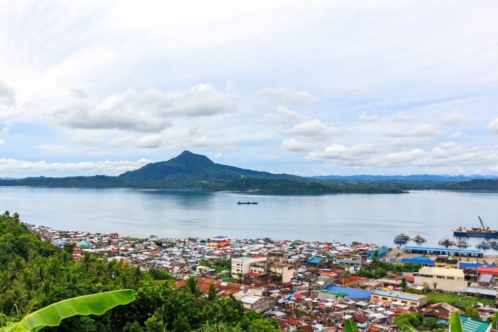 The Tacloban City view. Visit SoutheastAsia.