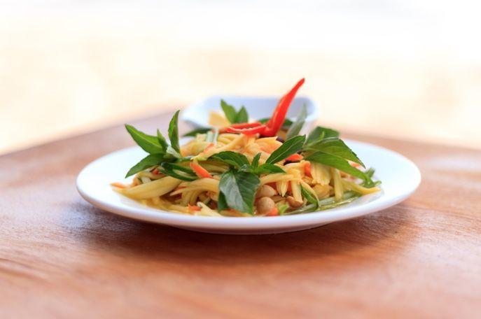 Cambodian Mango Salad