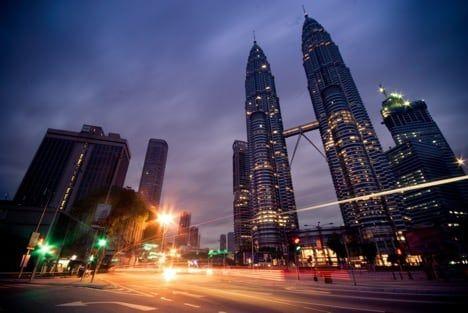 Petronas Towers in Kuala Lumpur, Malaysia / Visualhunt