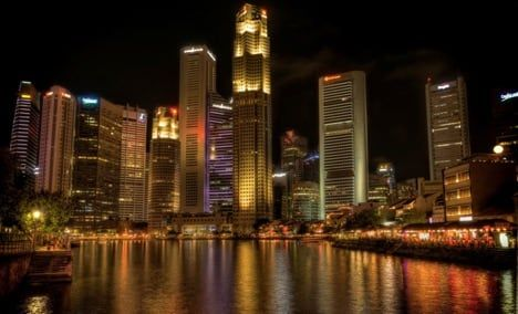 Boat Quay waterfront in Singapore / Visualhunt