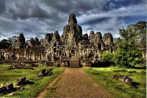 Bayon Temple in Angkor, Cambodia / Visualhunt