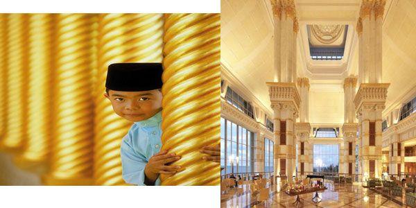 Luxury hotel in Brunei.