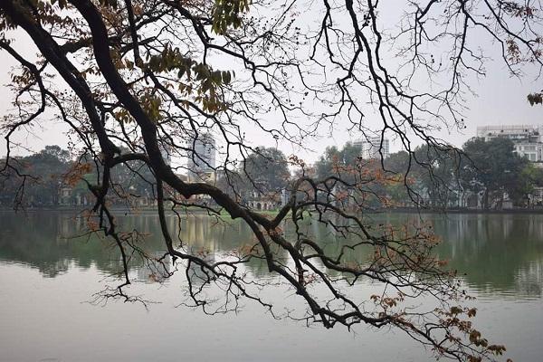 Hoàn Kiếm Lake in Hanoi, Vietnam Photo courtesy of Madhurima Chakraborty