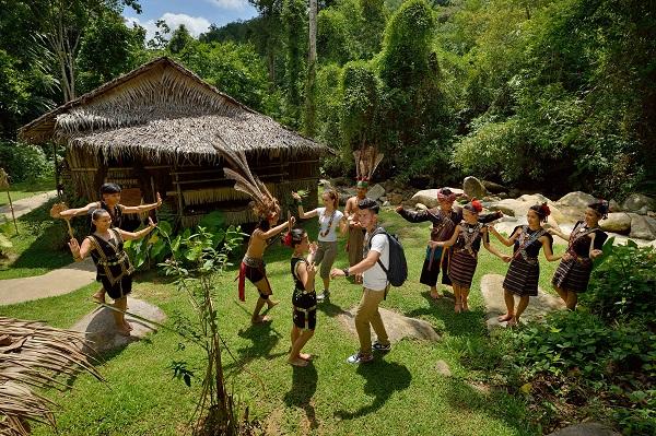 Mari-Mari cultural village, Sabah, Malaysia.
