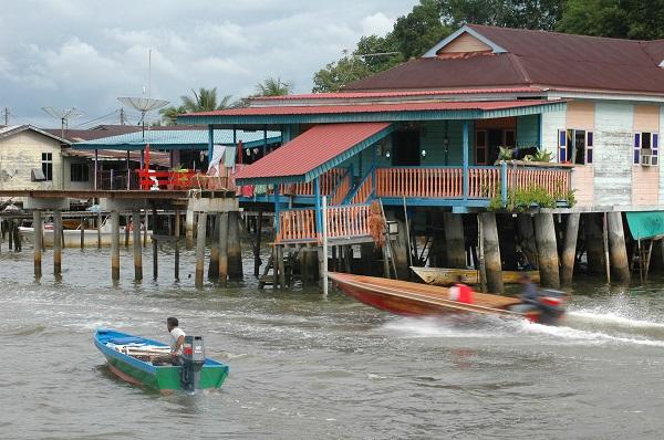 Kampong Ayer water village, Brunei.
