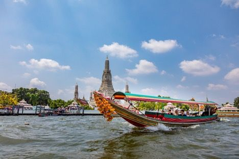 Chao Phraya River traffic