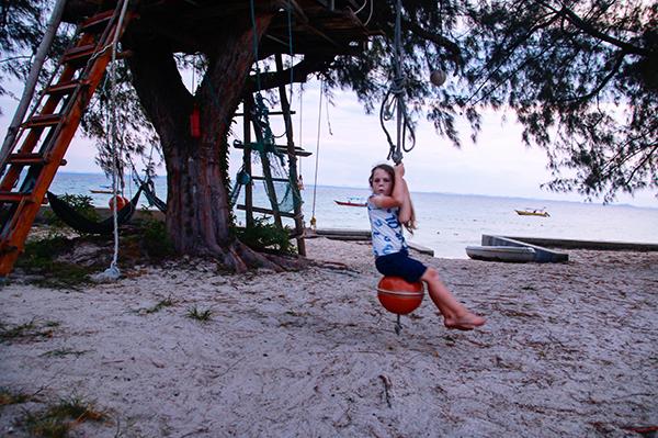 Swing on Pulau Besar