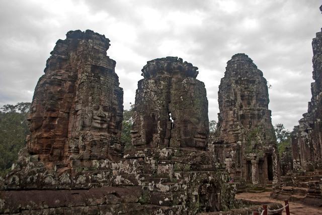 Bayon, Angkor temples, Cambodia