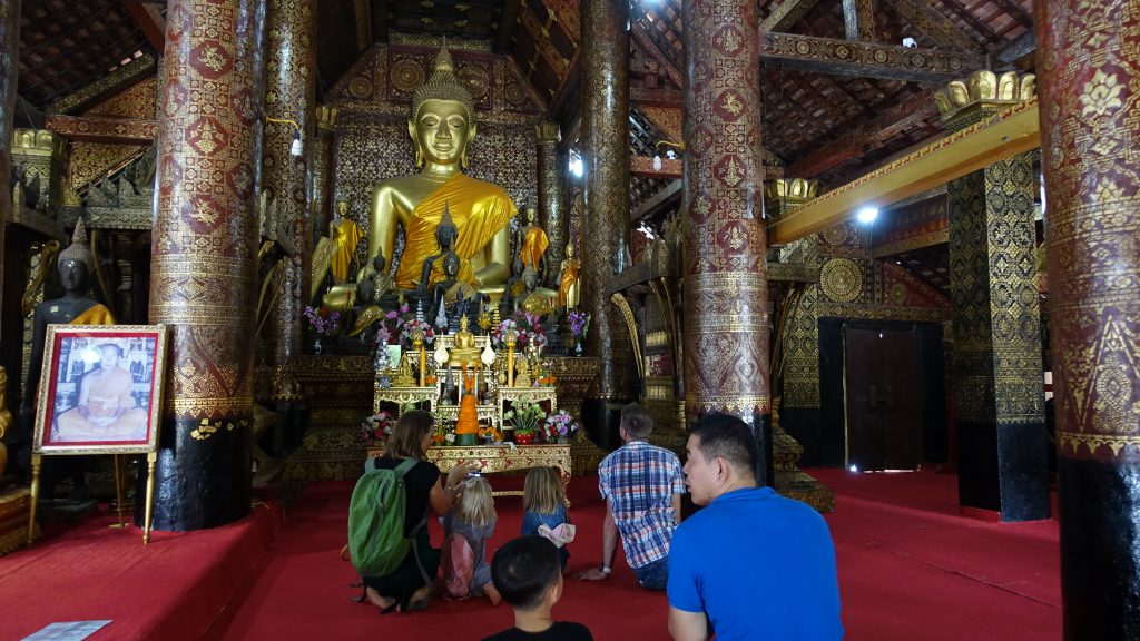 Wat Xieng Thong remains Luang Prabang's most distinguished Buddhist structure. Visit SoutheastAsia.