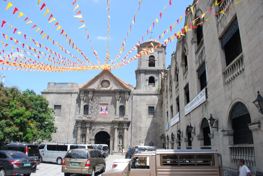 San Agustin Church is located in the walled city of Intramuros within Manila. Visit SoutheastAsia.