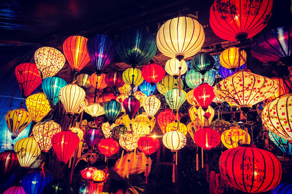 Hoi An, Vietnam lanterns. Image courtesy of Craig Russell.