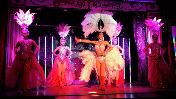 Chiang Mai Cabaret Show in progress, Thailand. Image courtesy of Alan & Rosalind Cuthbertson.