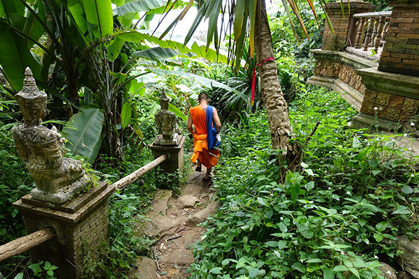 Monk's Trail, Thailand