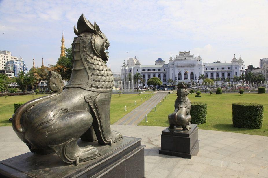 Maha Bandula Park, Yangon