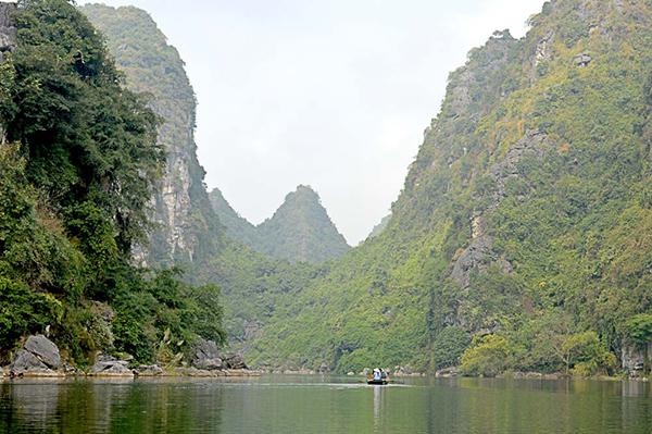Adrift near Ninh Binh, Vietnam