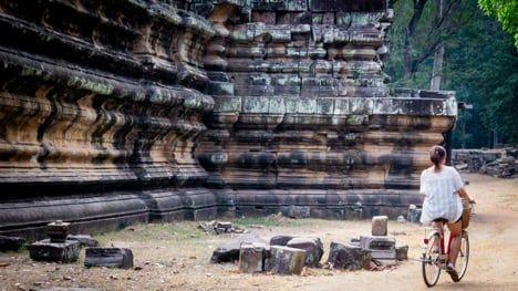 Bike the Angkor ruins / Visualhunt