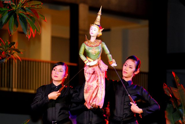 Thai Puppetry Performance, Thailand