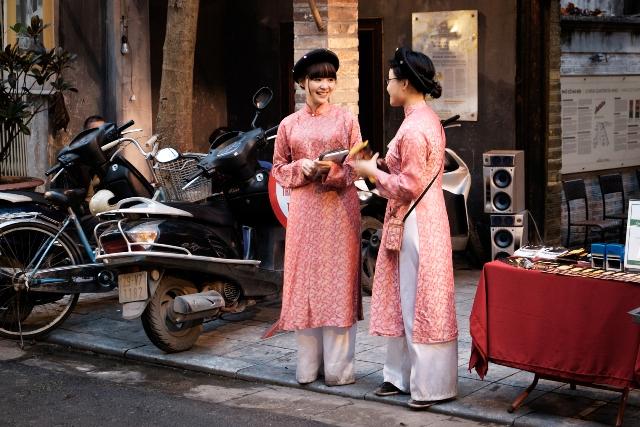 Ladies in the Old Quarter