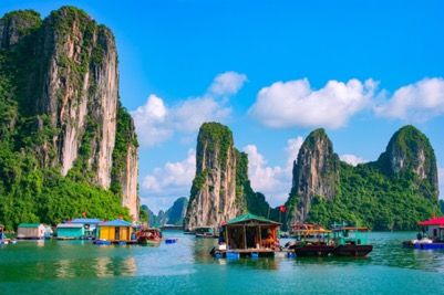 Halong Bay in Viet Nam