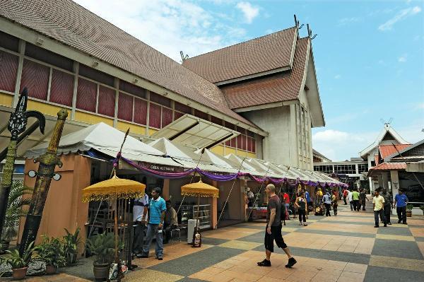 Exterior of Muzium Negara, Kuala Lumpur, Malaysia