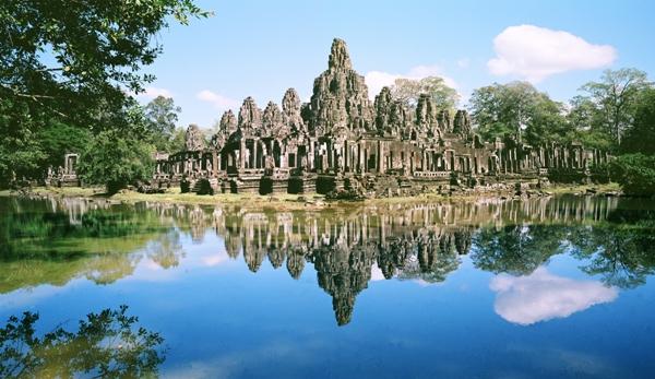 Bayon Temple, Angkor Archaeological Park, Cambodia