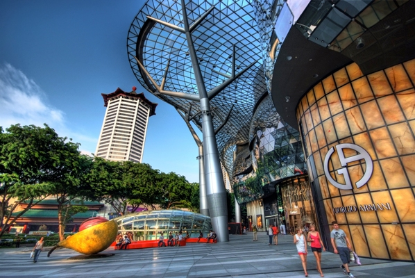 TANGS at Tang Plaza on Orchard Road. Image courtesy of Singapore Tourism Board