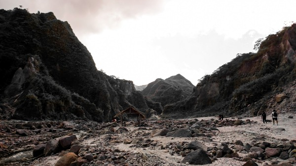Pinatubo, Philippines trek.