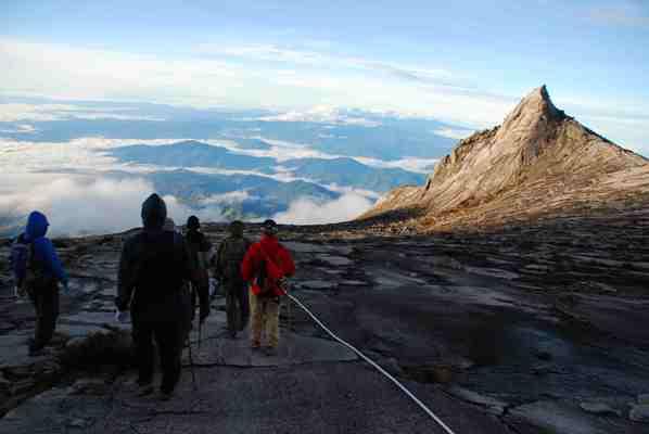 Slopes of Mount Kinabalu, Malaysia.