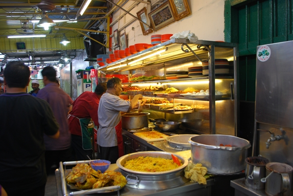 Line Clear Nasi Kandar, Penang, Malaysia. Image © Mike Aquino, used with permission.