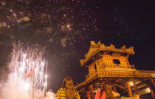 Hue Festival fireworks
