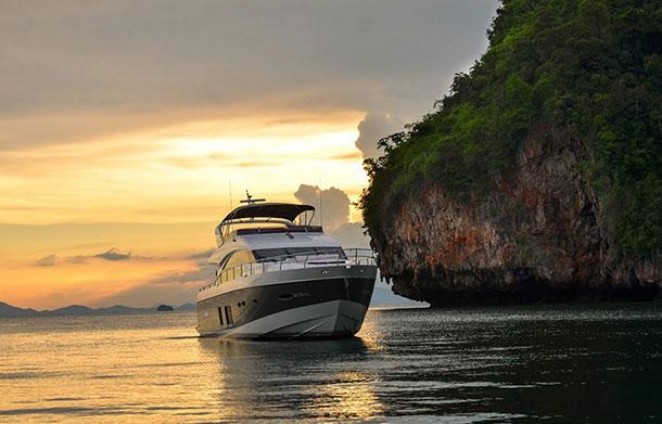 Yacht off Phuket, Thailand. Image © Tourism Authority of Thailand