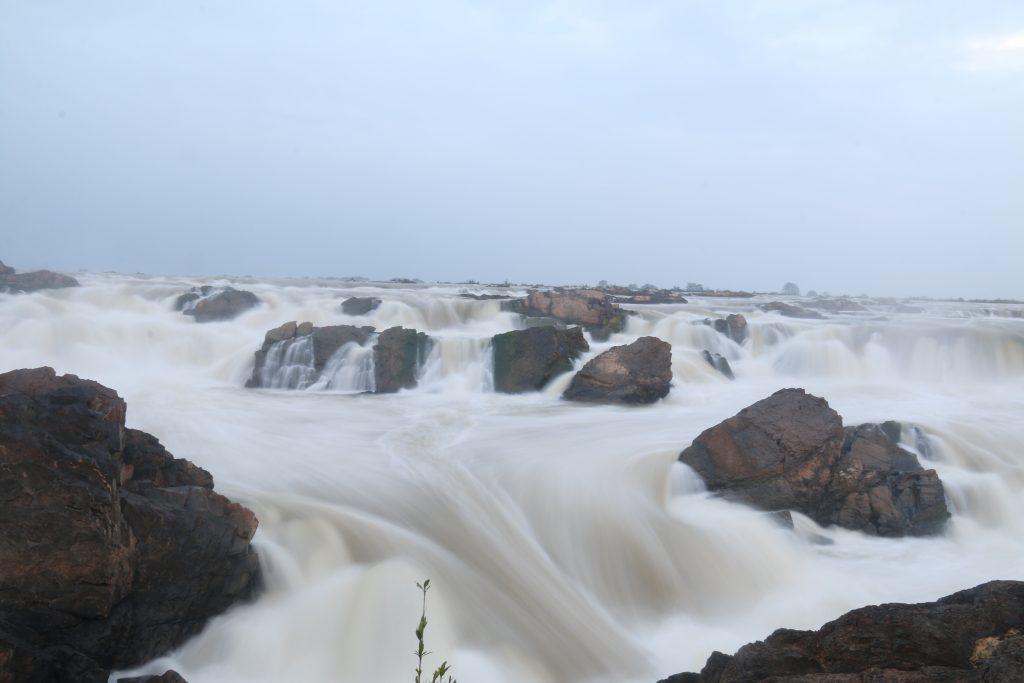 The Sopheakmit Waterfall in Preah Vihear. Visit SoutheastAsia.