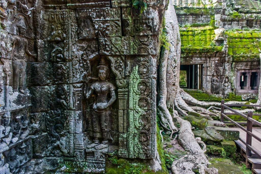 Taprom Temple in Siem Reap, Cambodia. Visit SoutheastAsia.