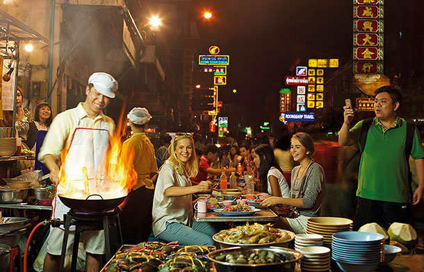Yaowarat China Town. Image © Tourism Authority of Thailand