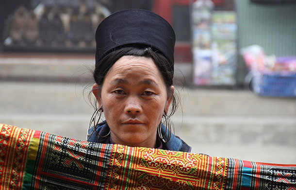 Hmong lady at Sapa, Viet Nam