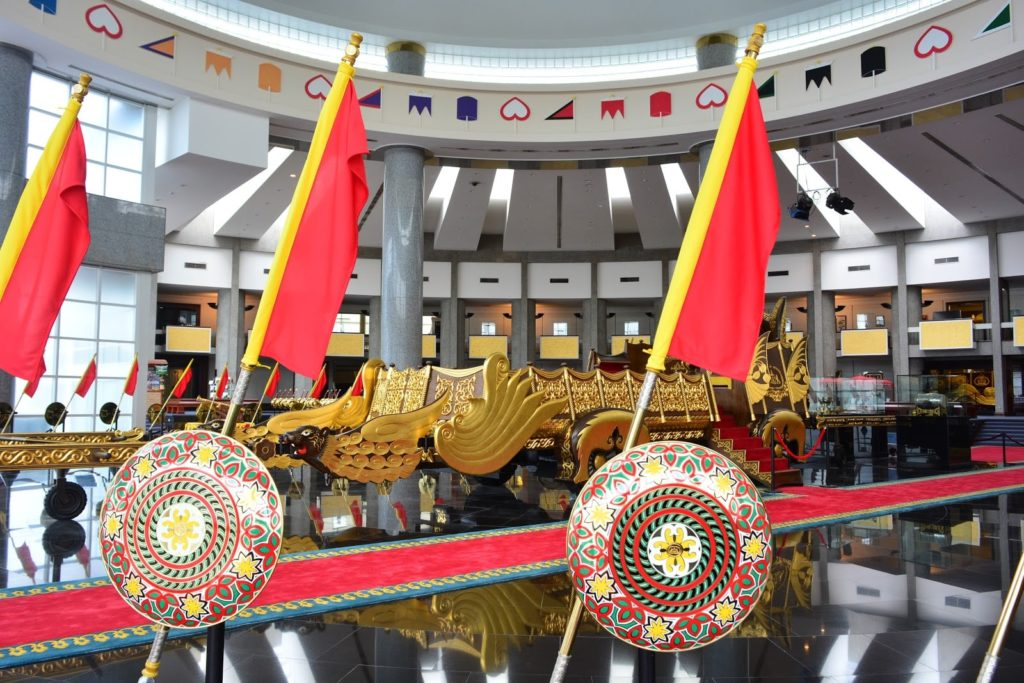 The Royal Regalia Museum in  Bandar Seri Begawan, Brunei / Shutterstock