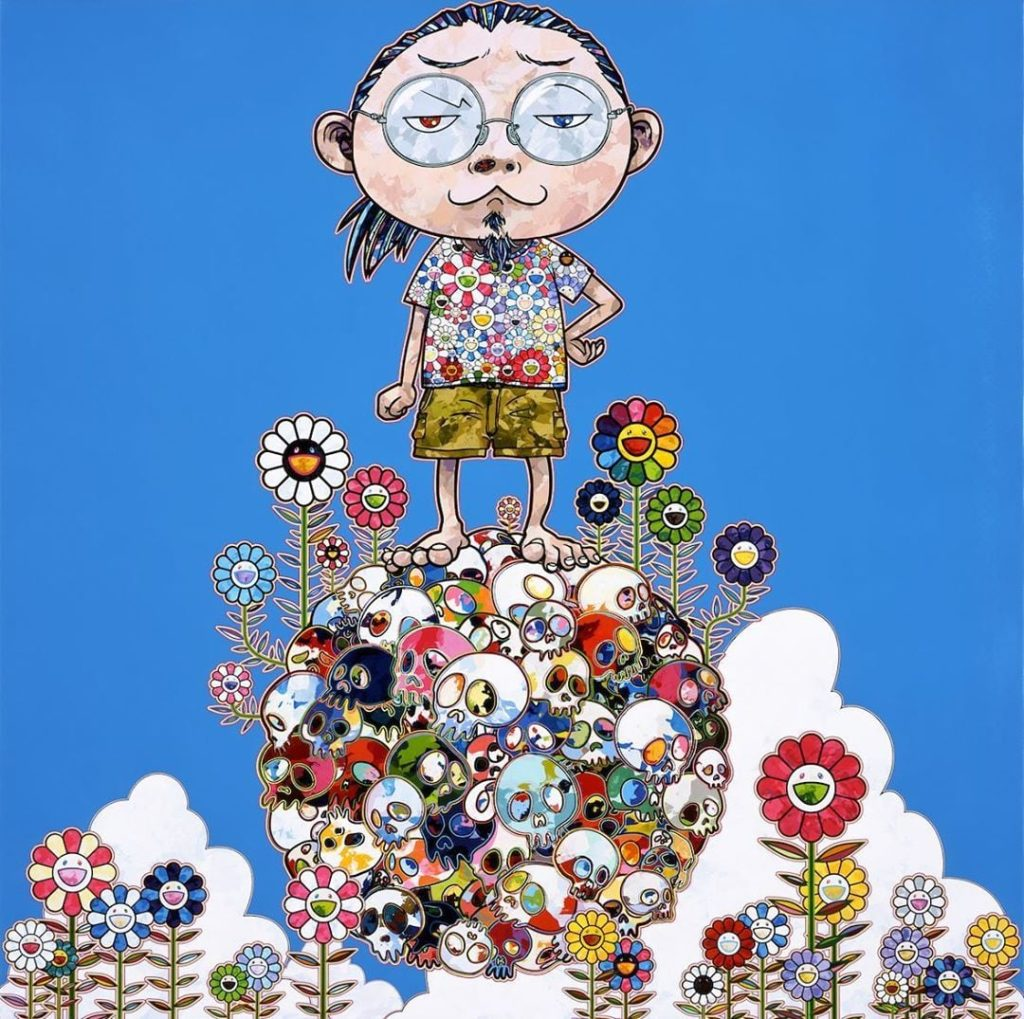 Singapore Exhibition of Takashi Murakami's works / @stpi_gallery / Instagram
