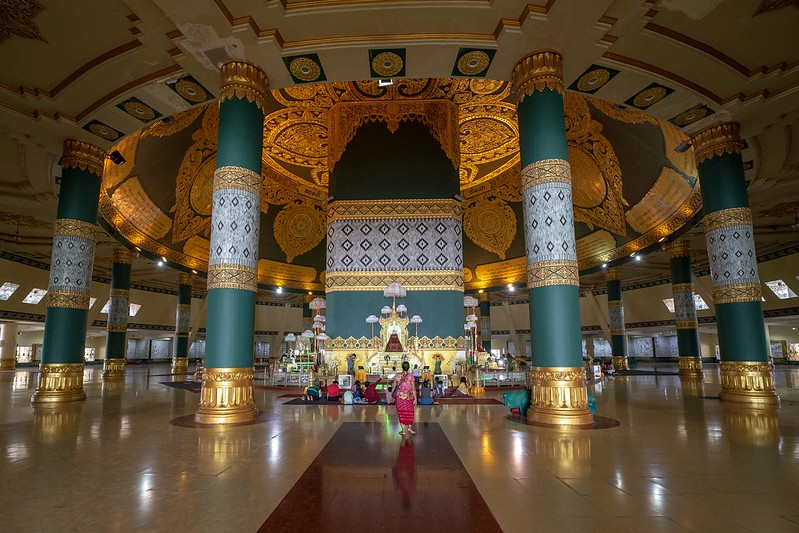 The Uppatasanti Pagoda in Nay Pyi Taw. Visit SoutheastAsia.