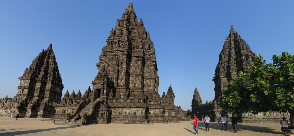 Prambanan: The 224-temple complex was built in 856 CE by a Hindu prince marrying into the ruling Buddhist Sailendra monarchy. Visit SoutheastAsia.