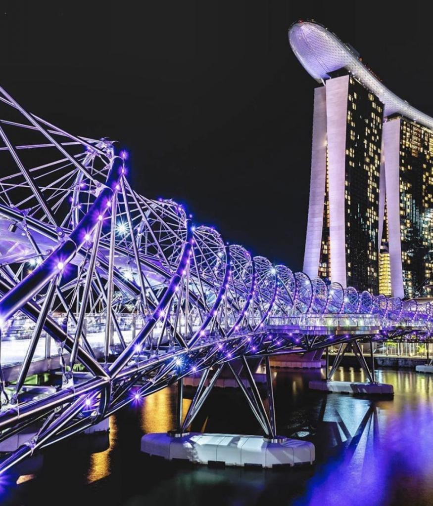 The Helix Bridge | Visit SE Asia